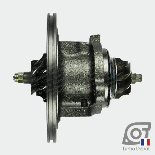 Ensemble Tournant CHRA cartouche centrale ET019B pour turbo BorgWarner 5435-970-0000 et 5435-970-00002, face 1