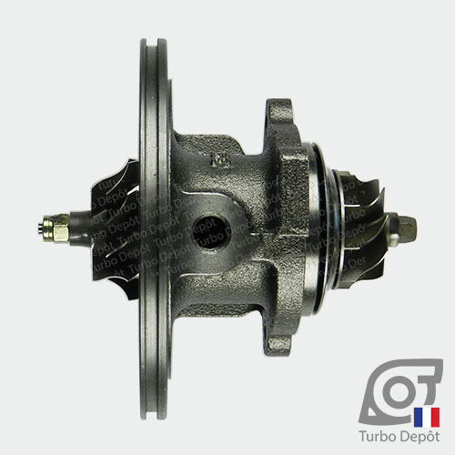 Ensemble Tournant CHRA cartouche centrale ET019B pour turbo BorgWarner 5435-970-0000 et 5435-970-00002, face 2