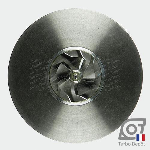 Ensemble Tournant CHRA cartouche centrale ET019B pour turbo BorgWarner 5435-970-0000 et 5435-970-00002, face 5