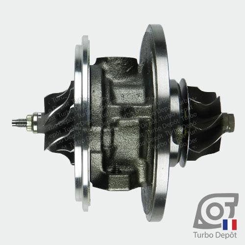 Ensemble Tournant CHRA cartouche centrale ET009L pour turbo Garrett 751851, face 1