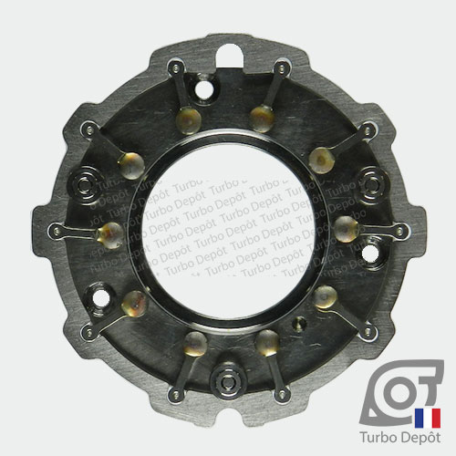 Géométrie variable GE043L pour turbo Garrett 753420, face 1