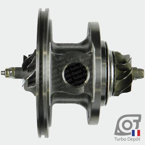 Ensemble Tournant CHRA cartouche centrale ET018A pour turbo BorgWarner 5435-970-0001, 5435-970-0007, 5435-970-0009 et 5435-970-0021, face 4