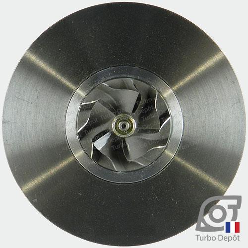 Ensemble Tournant CHRA cartouche centrale ET018A pour turbo BorgWarner 5435-970-0001, 5435-970-0007, 5435-970-0009 et 5435-970-0021, face 5