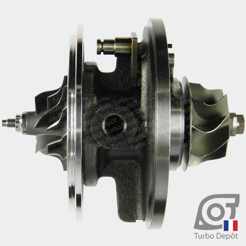 Ensemble Tournant CHRA cartouche centrale ET006G pour turbo Garrett 454232-0002, 454232-0006, 454232-0008, 454232-0011, 454232-0014 et 713673, face 2
