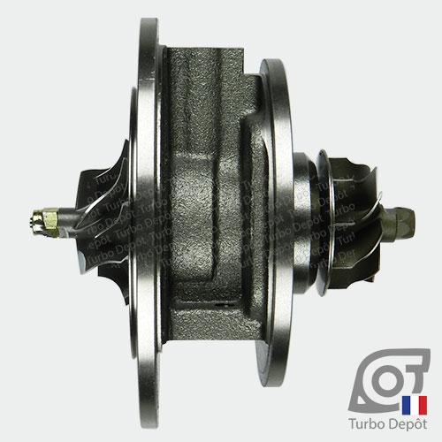 Ensemble Tournant CHRA cartouche centrale ET024H pour turbo BorgWarner 5439-970-0030 et 5439-970-0070, face 1