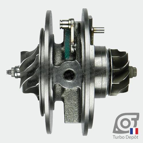 Ensemble Tournant CHRA cartouche centrale ET029T pour turbo Mitsubishi 49135-05620, 49135-05640, 49135-05650, 49135-05651, 49135-05660, 49135-05670 et 49135-05671, face 2