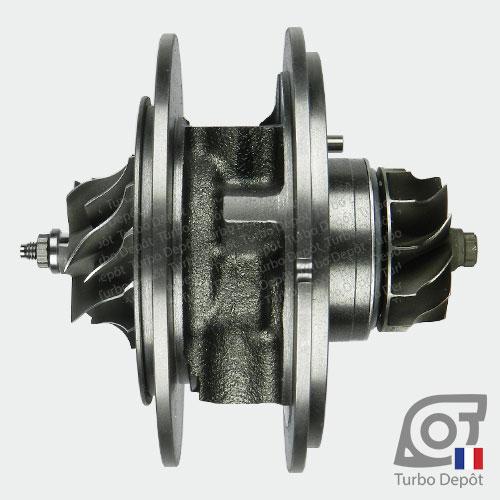 Ensemble Tournant CHRA cartouche centrale ET029T pour turbo Mitsubishi 49135-05620, 49135-05640, 49135-05650, 49135-05651, 49135-05660, 49135-05670 et 49135-05671, face 3