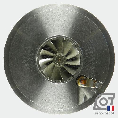 Ensemble Tournant CHRA cartouche centrale ET029T pour turbo Mitsubishi 49135-05620, 49135-05640, 49135-05650, 49135-05651, 49135-05660, 49135-05670 et 49135-05671, face 6