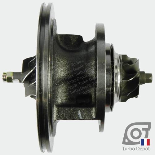 Ensemble Tournant CHRA cartouche centrale ET102Z pour turbo BorgWarner 5435-970-0011 et 5435-970-0033, face 1