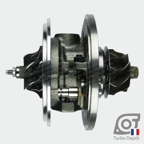 Ensemble Tournant CHRA cartouche centrale ET002B pour turbo Garrett 712077, 716215, 717858, 729041 et 758219, face 1