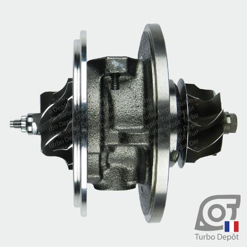 Ensemble Tournant CHRA cartouche centrale ET002B pour turbo Garrett 712077, 716215, 717858, 729041 et 758219, face 3