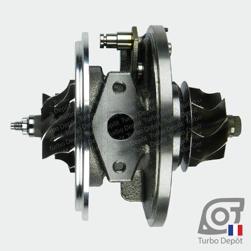 Ensemble Tournant CHRA cartouche centrale ET002B pour turbo Garrett 712077, 716215, 717858, 729041 et 758219, face 4