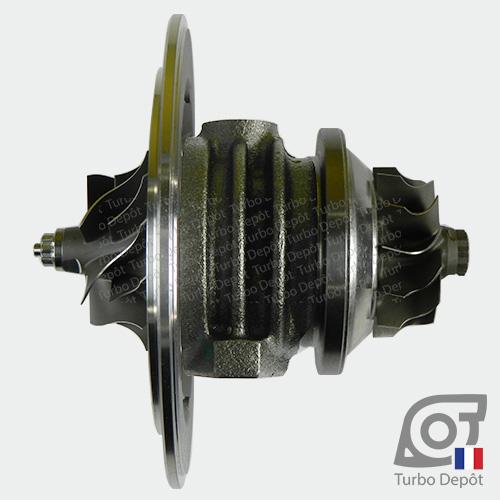 Ensemble Tournant CHRA cartouche centrale ET030U pour turbo Mitsubishi 49377-07000 et 49377-07010, face 1