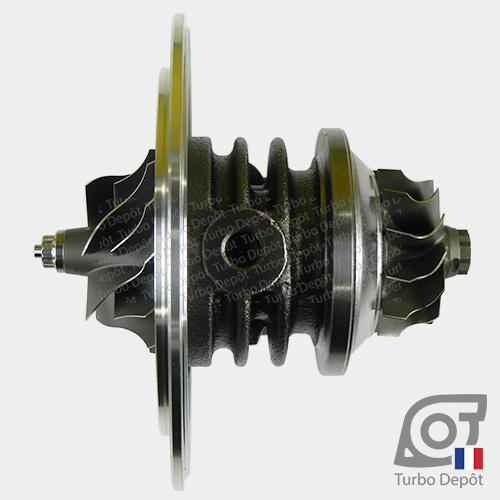 Ensemble Tournant CHRA cartouche centrale ET012T pour turbo Garrett 454126-0001, 454126-0002, 751578-0001 et 751578-0002, face 2