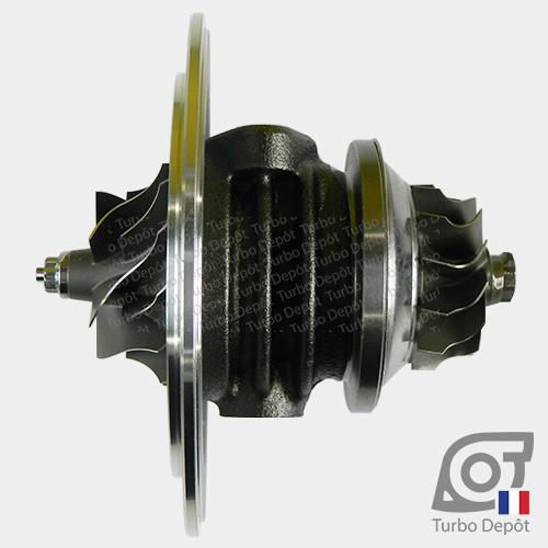 Ensemble Tournant CHRA cartouche centrale ET012T pour turbo Garrett 454126-0001, 454126-0002, 751578-0001 et 751578-0002, face 3