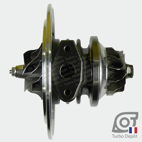 Ensemble Tournant CHRA cartouche centrale ET012T pour turbo Garrett 454126-0001, 454126-0002, 751578-0001 et 751578-0002, face 4