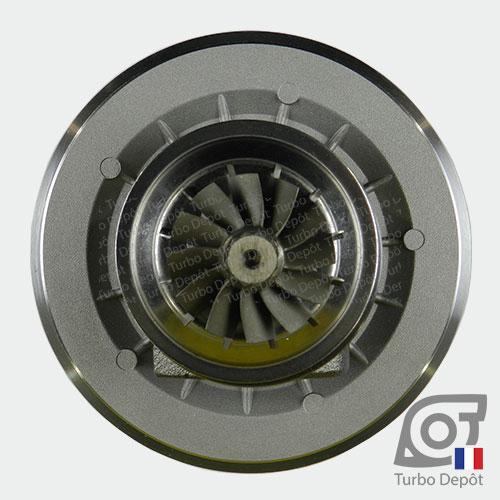 Ensemble Tournant CHRA cartouche centrale ET012T pour turbo Garrett 454126-0001, 454126-0002, 751578-0001 et 751578-0002, face 6
