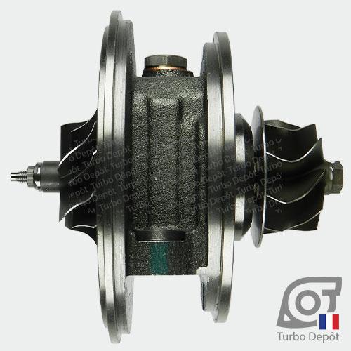 Ensemble Tournant CHRA ET016Y pour turbo Garrett 757608-0001, face 1