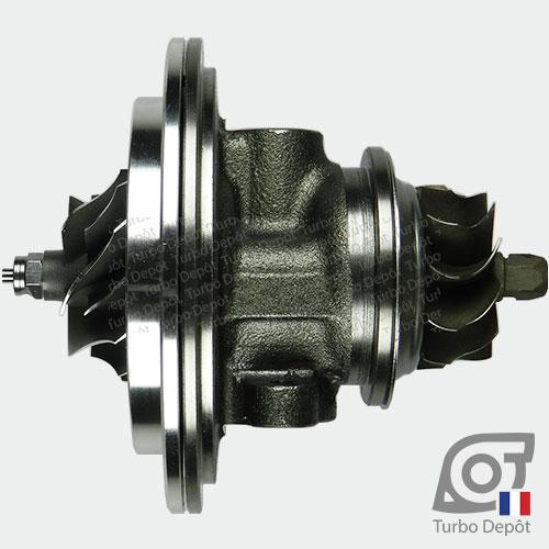Ensemble Tournant CHRA cartouche centrale ET023G pour turbo BorgWarner 5303-970-0034 et 5303-970-0037, face 1