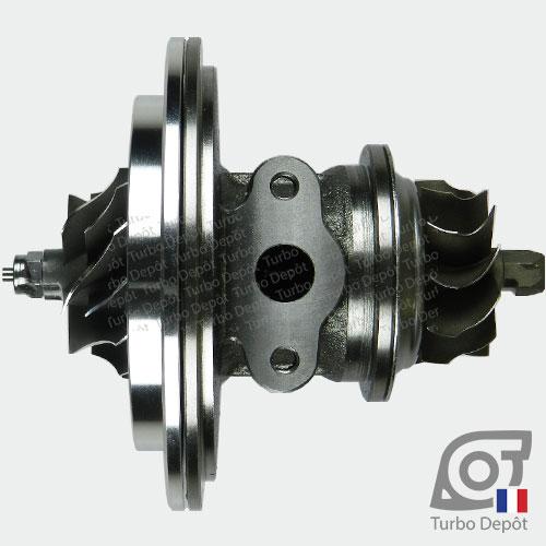 Ensemble Tournant CHRA cartouche centrale ET023G pour turbo BorgWarner 5303-970-0034 et 5303-970-0037, face 4