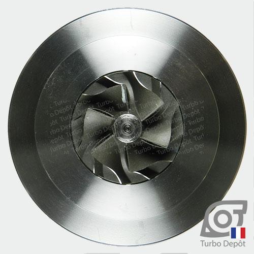 Ensemble Tournant CHRA cartouche centrale ET023G pour turbo BorgWarner 5303-970-0034 et 5303-970-0037, face 5