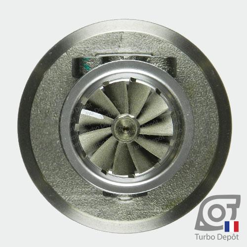 Ensemble Tournant CHRA cartouche centrale ET023G pour turbo BorgWarner 5303-970-0034 et 5303-970-0037, face 6