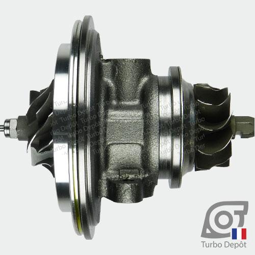 Ensemble Tournant CHRA cartouche centrale ET026L pour turbo BorgWarner 5303-970-0075 et 5303-970-0076, face 1