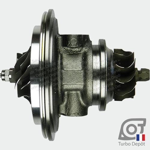 Ensemble Tournant CHRA cartouche centrale ET026L pour turbo BorgWarner 5303-970-0075 et 5303-970-0076, face 3