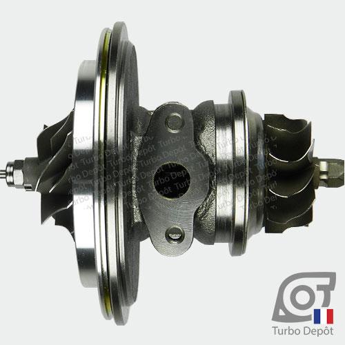 Ensemble Tournant CHRA cartouche centrale ET026L pour turbo BorgWarner 5303-970-0075 et 5303-970-0076, face 4
