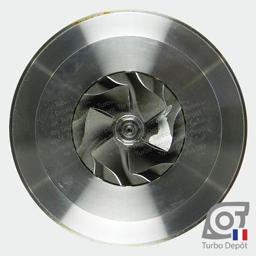 Ensemble Tournant CHRA cartouche centrale ET026L pour turbo BorgWarner 5303-970-0075 et 5303-970-0076, face 5
