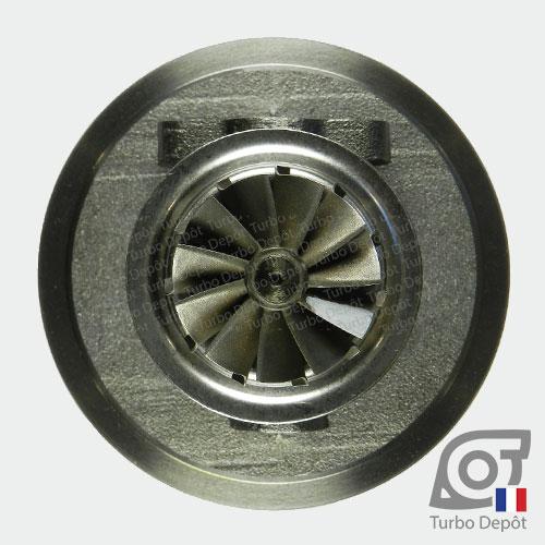 Ensemble Tournant CHRA cartouche centrale ET026L pour turbo BorgWarner 5303-970-0075 et 5303-970-0076, face 6