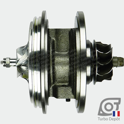 Ensemble Tournant CHRA cartouche centrale ET028P pour turbo BorgWarner 5303-970-0132, 5303-970-0139, 5303-970-0152, 5303-970-0205 et 5303-970-0206, face 1