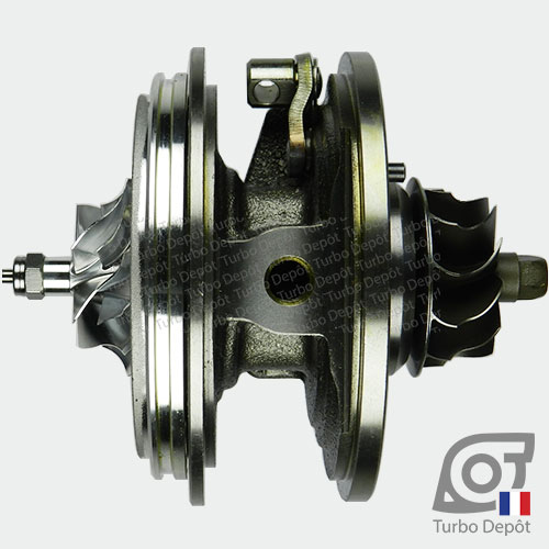Ensemble Tournant CHRA cartouche centrale ET028P pour turbo BorgWarner 5303-970-0132, 5303-970-0139, 5303-970-0152, 5303-970-0205 et 5303-970-0206, face 2