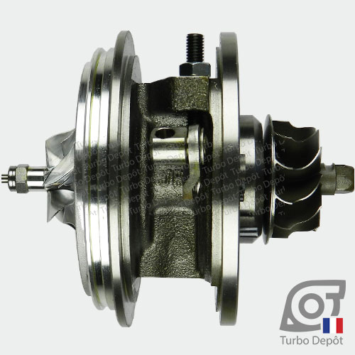 Ensemble Tournant CHRA cartouche centrale ET028P pour turbo BorgWarner 5303-970-0132, 5303-970-0139, 5303-970-0152, 5303-970-0205 et 5303-970-0206, face 3