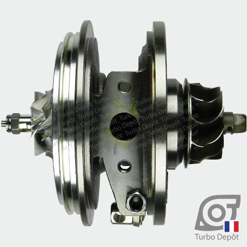 Ensemble Tournant CHRA cartouche centrale ET028P pour turbo BorgWarner 5303-970-0132, 5303-970-0139, 5303-970-0152, 5303-970-0205 et 5303-970-0206, face 4