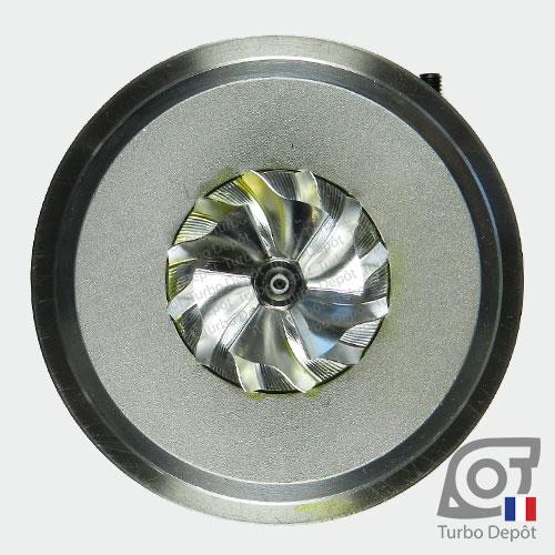 Ensemble Tournant CHRA cartouche centrale ET028P pour turbo BorgWarner 5303-970-0132, 5303-970-0139, 5303-970-0152, 5303-970-0205 et 5303-970-0206, face 5