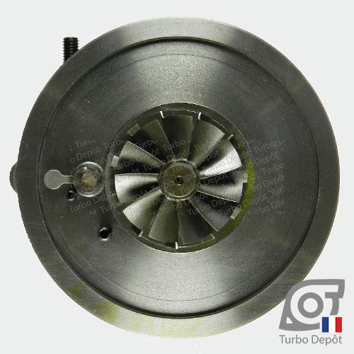 Ensemble Tournant CHRA cartouche centrale ET028P pour turbo BorgWarner 5303-970-0132, 5303-970-0139, 5303-970-0152, 5303-970-0205 et 5303-970-0206, face 6
