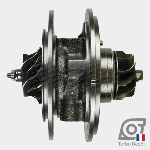 Ensemble Tournant CHRA cartouche centrale ET034Z pour turbo Mitsubishi 49135-05710, 49135-05720, 49135-05730, 49135-05740, 49135-05760 et 49135-05761, face 1
