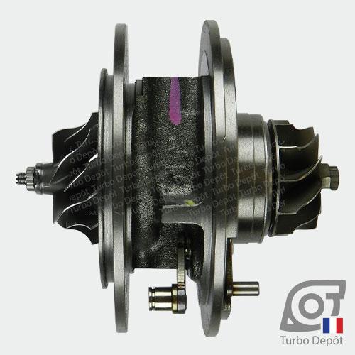 Ensemble Tournant CHRA cartouche centrale ET034Z pour turbo Mitsubishi 49135-05710, 49135-05720, 49135-05730, 49135-05740, 49135-05760 et 49135-05761, face 3