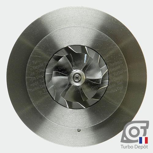 Ensemble Tournant CHRA cartouche centrale ET034Z pour turbo Mitsubishi 49135-05710, 49135-05720, 49135-05730, 49135-05740, 49135-05760 et 49135-05761, face 5