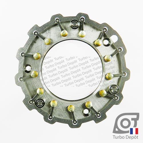 Géométrie variable GE039E pour turbo Garrett 724639-0002, 724639-0006, 757608-0001, 765155-0001, 765155-0004, 765155-0007 et 765155-0008, face 1
