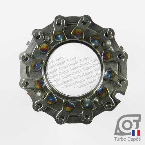 Géométrie variable GE052A pour turbo Mitsubishi 49377-07401, 49377-07403, 49377-07404, 49377-07405, 49377-07406, 49377-07411 et 49377-07440, face 1
