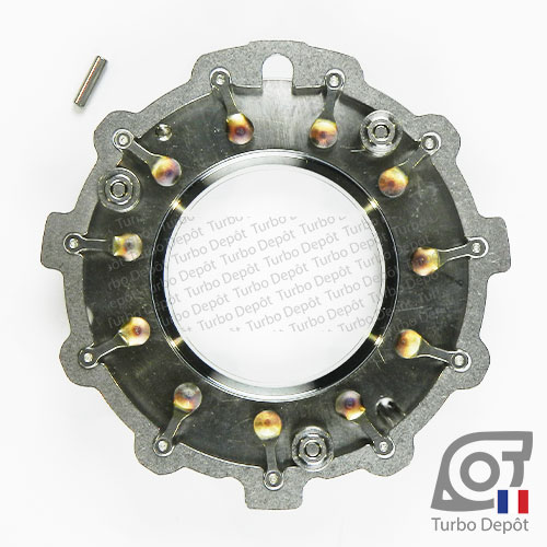 Géométrie variable GE044M pour turbo Garrett 763091-0004, face 1