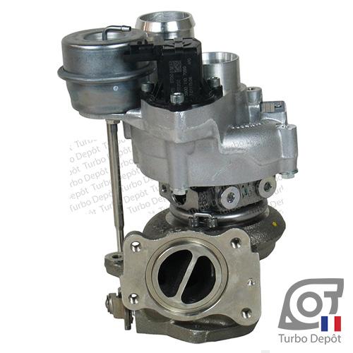 Turbo TR20060L pour BORGWARNER 5303-970-0118, 5303-970-0163, 5303-970-0181 face 2, sur PEUGEOT 308 (2007-2013) ESSENCE 1.6 GTi 200cv