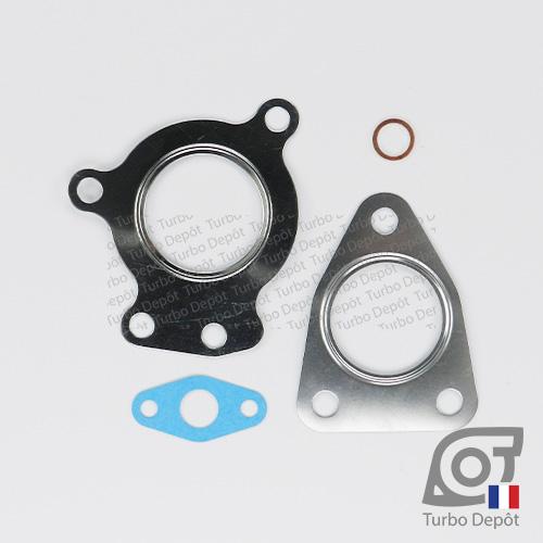 Pochette de joints PJ150W pour turbo GARRETT 718089-0001, 718089-0002, 718089-0003, 718089-0004, 718089-0005, 718089-0006, 718089-0008 et 718089-0009