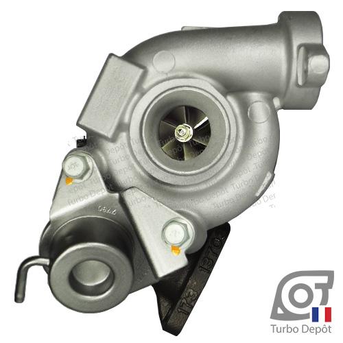 Turbo TR10002B pour Mitsubishi 49173-07502, 49173-07503, 49173-07504, 49173-07506, 49173-07507, 49173-07508, 49173-07516, 49173-07527 et 49173-07528, face 1