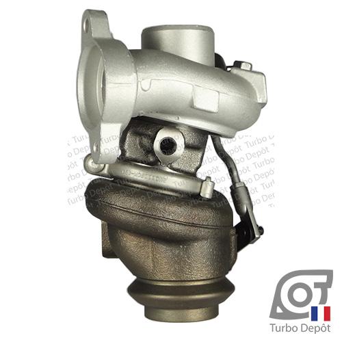 Turbo TR10002B pour Mitsubishi 49173-07502, 49173-07503, 49173-07504, 49173-07506, 49173-07507, 49173-07508, 49173-07516, 49173-07527 et 49173-07528, face 5