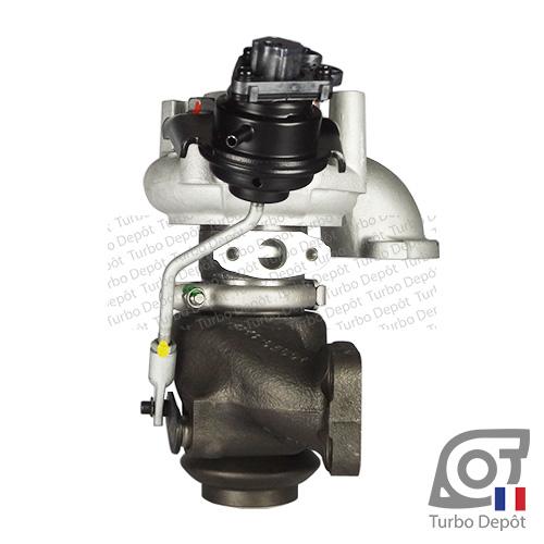 Turbo TR10018A pour Mitsubishi 49373-02000, 49373-02001, 49373-02002, 49373-02003, 49373-02004, 49373-02012, 49373-02013, 49373-02022 et 49373-02023, face 3