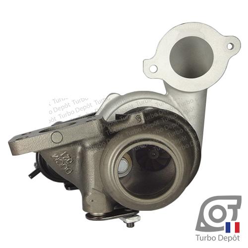 Turbo TR10018A pour Mitsubishi 49373-02000, 49373-02001, 49373-02002, 49373-02003, 49373-02004, 49373-02012, 49373-02013, 49373-02022 et 49373-02023, face 6