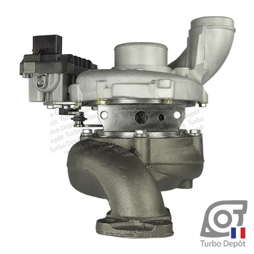 Turbo TR11081U pour GARRETT 761399, 765156 face 2, sur MERCEDES S320 (2005-2013) DIESEL CDI 224 et MERCEDES S350 (2005-2013) DIESEL CDI 235cv